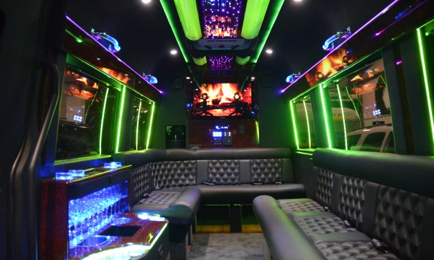 Hummer, Stretch Limo, Party Bus
