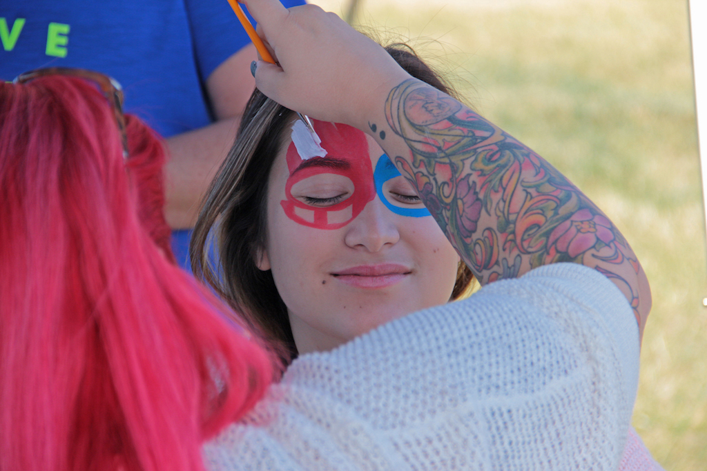 Face painting is a staple nowadays at every event!