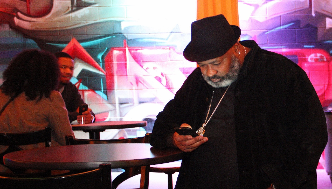 Charles Nance checks the scores, the texts and the tunes