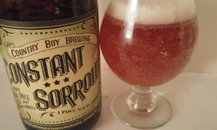 Country Boy Constant Sorrow Barrel-Aged Double IPA