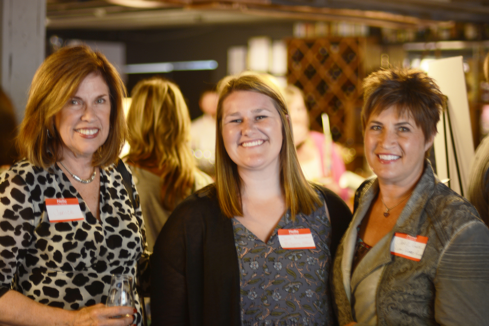 Janice Cates, Claire McCormick and Cheryl Guanci
