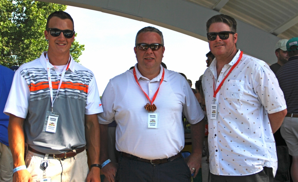 Braden Voss - Monarch Beverage, Chris McDaniel Paul Busby with Southern Glazers