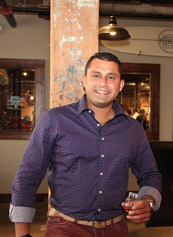 Karthik Sudhir, future Distiller from California