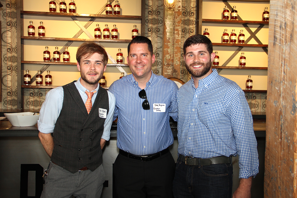 John Higgins, Bobby Benjamin and Caleb Kilburn, Head Distiller