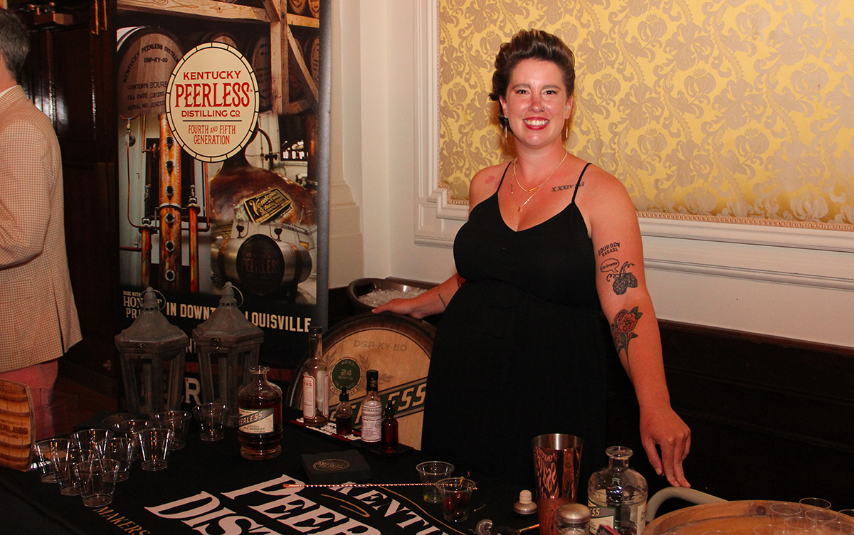Emily with Peerless Distillery