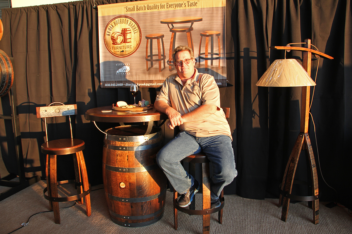 Dave Furn - Kentucky Oak Bourbon Barrel Furniture