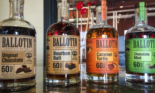 Christmas Bourbon Cocktails with Ballotin