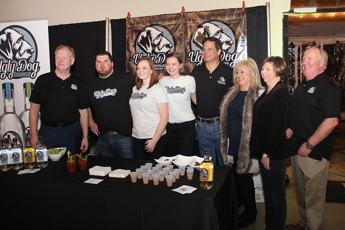 David Salmon, Ben Stacy, Carrie Salmon-Stacy, McKenzie Ragan, Steve Ragan, Sharlene Lawerence, Sharon Salmon and Bill Lawerence