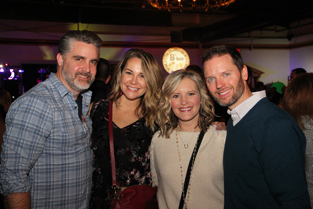 Andrea and Michael with Andy and Amy Nic - 97.5 WAMZ / iHeart Media