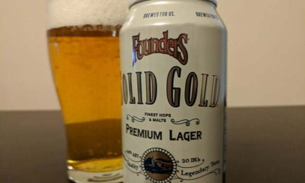 Founders Brewing Co. Solid Gold