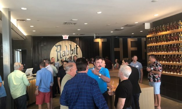 Bourbon Brotherhood's tour of Rabbit Hole Distillery