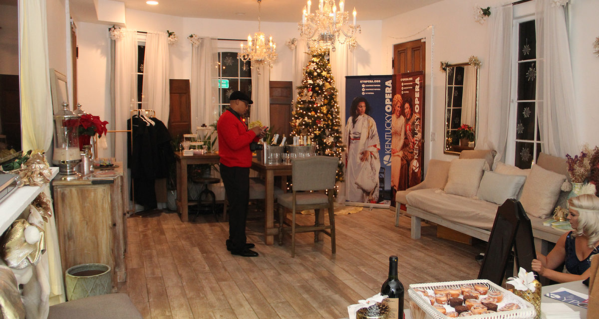 Prohibition Classic Christmas Open House