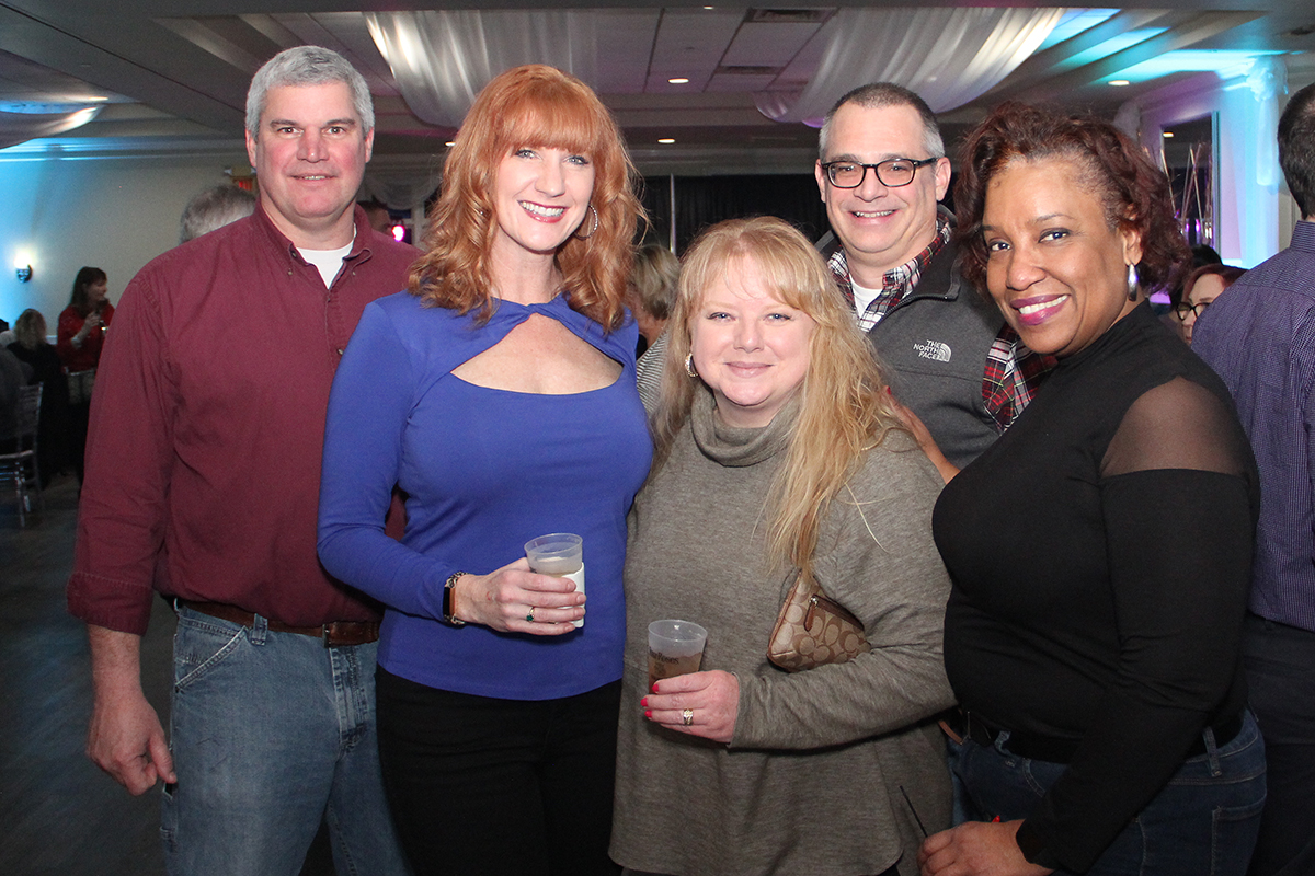 Tina Davis, Heather & Brian Sinnwell, Brenda and Bill DeGraw