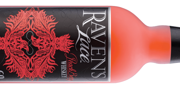 Raven's Lace PeachBerry Whiskey